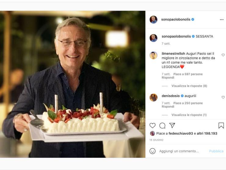 Schermata del Profilo Instagram di Paolo Bonolis (Instagram)
