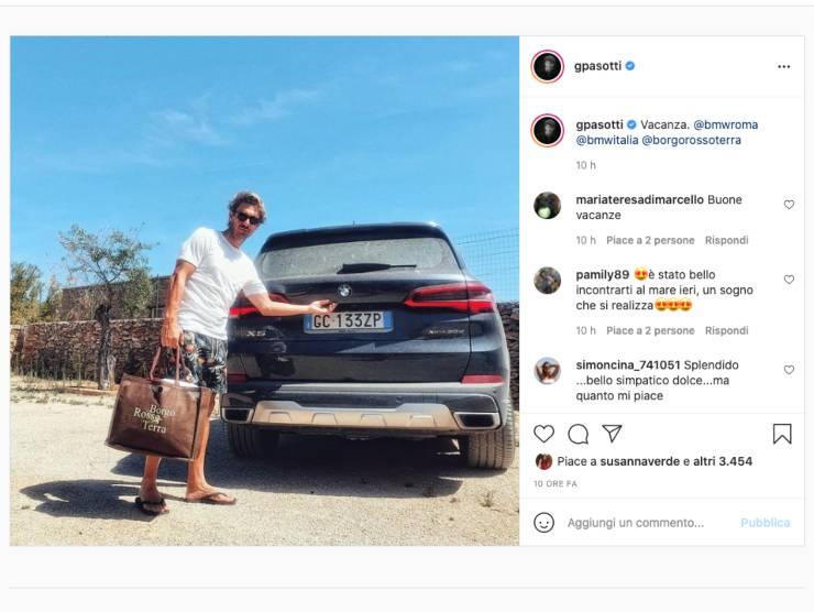 Post di Giorgio Pasotti (Instagram)