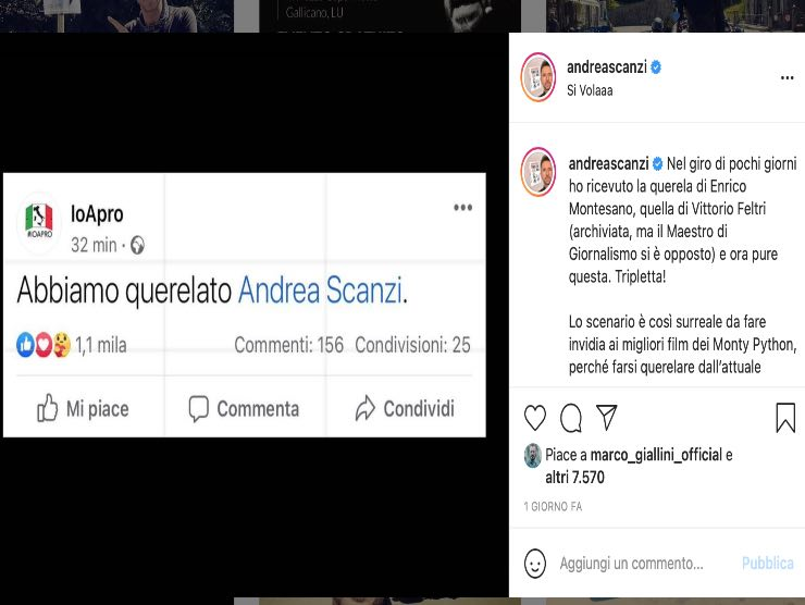 Querela Andrea Scanzi