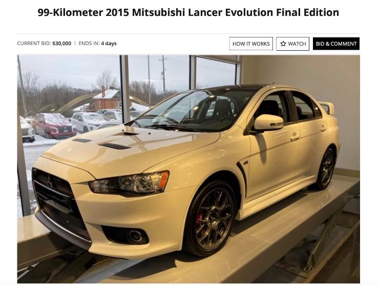 Mitsubishi Lance in vendita su Bringatraile
