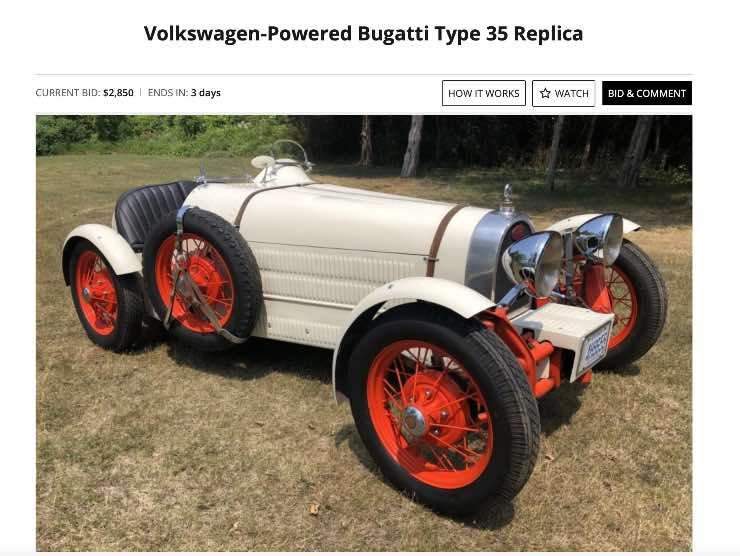 Maggiolino/Bugatti Bringatrailer
