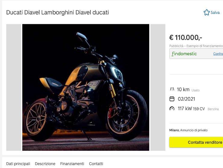 Diavel Lamborghini in vendita Autoscout 24