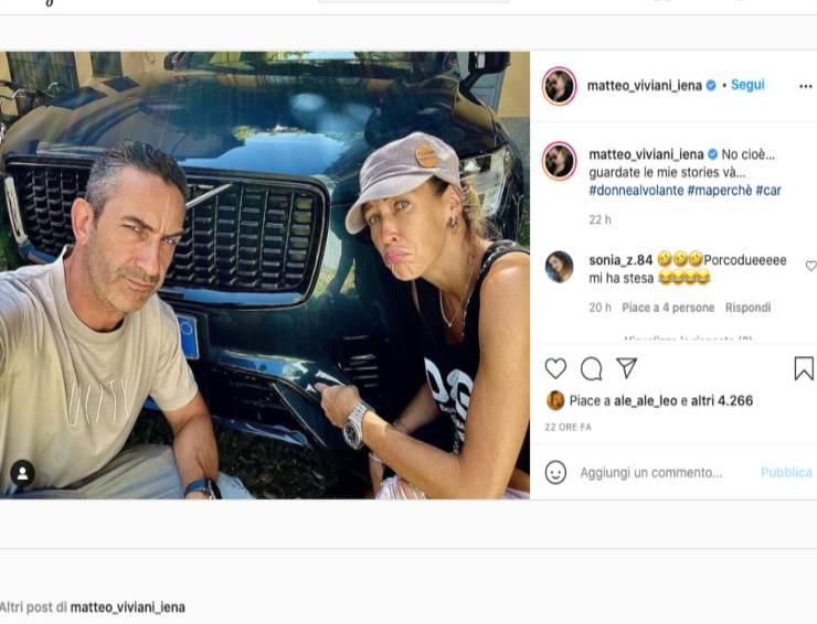 Schermata profilo Instagram di Matteo Viviani (Instagram)