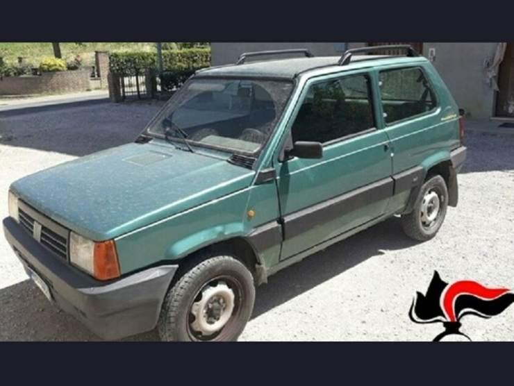 Fiat Panda con revisione falsa (BresciaToday.it)