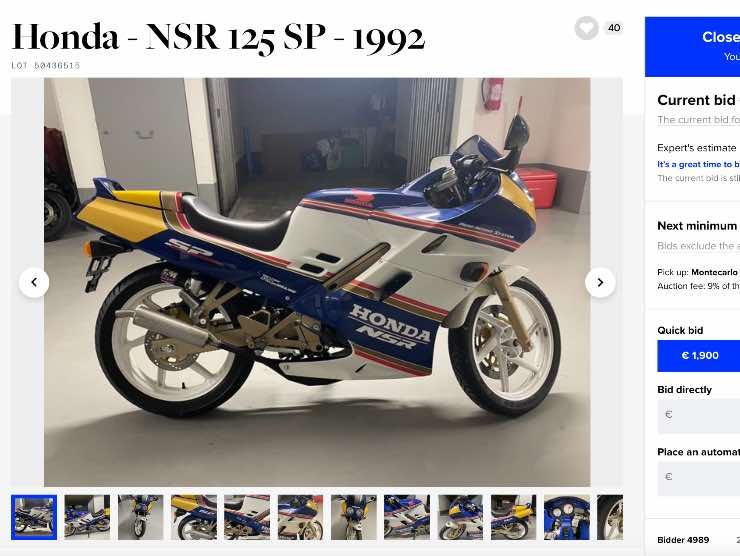 Honda NSR 125 in vendita (Katawiki)