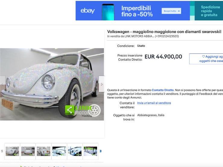 Annuncio Maggiolino eBay