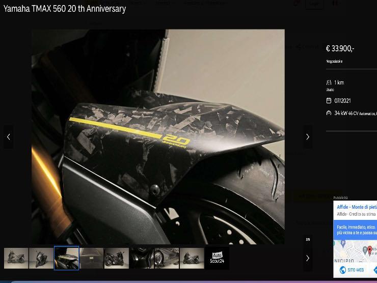 Screenshot annuncio autoscout24
