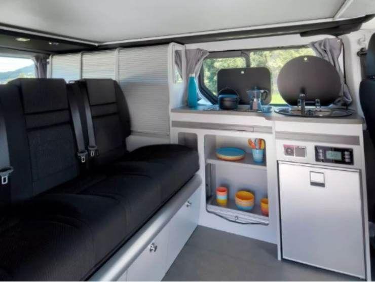 Trafic SpaceNomad (Renault) interni