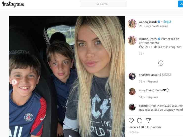 Wanda Nara post Instagram