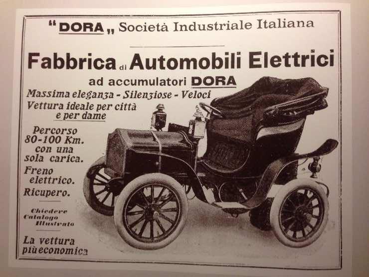 Auto elettrica Dora