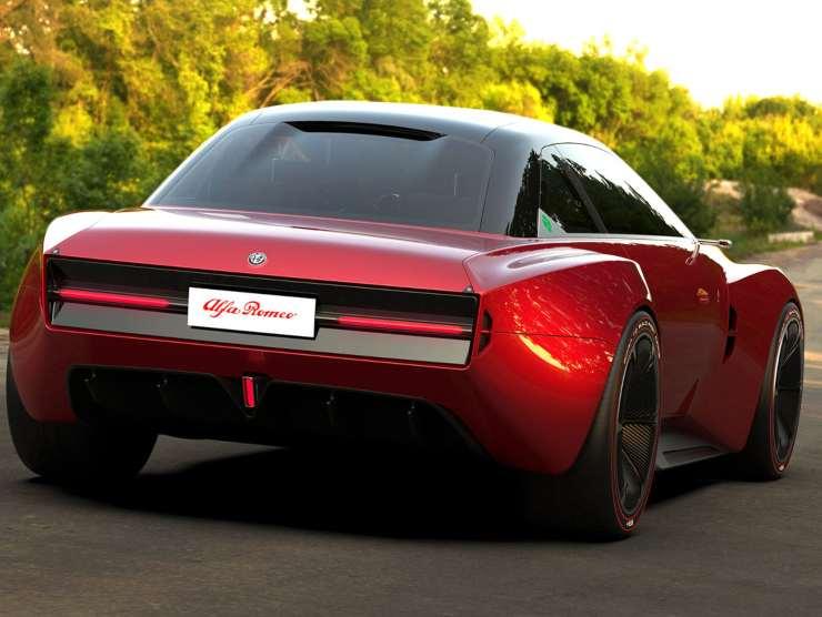 Alfa Romeo Giulia GTS (yankodesign)