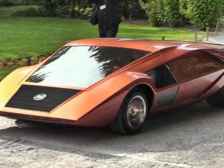 Bertone Lancia Stratos HF Zero (YouTube) in evidenza