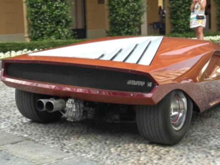 Bertone Lancia Stratos HF Zero (YouTube)