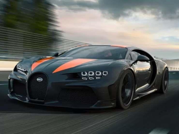 Bugatti Chiron Super Sport 300+.