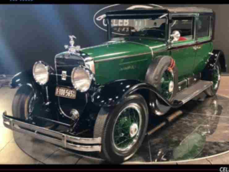 L'auto di Capone