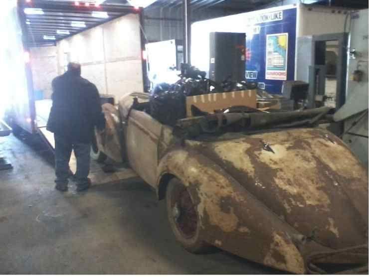 Delahaye 135M Cabriolet (James Edition)