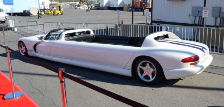 Dodge viper limousine