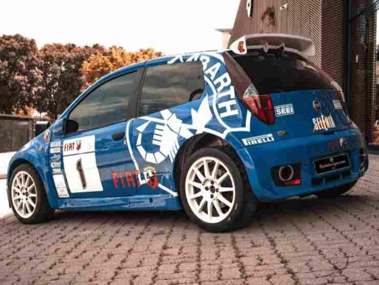 Fiat Punto S1600 Rally (Ruote da Sogno) 2