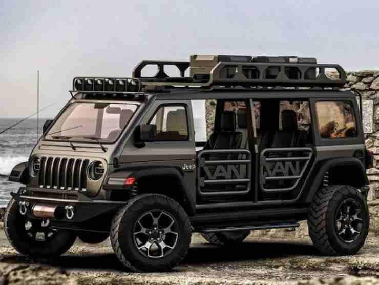 Jeep Vangler (Instagram) 2