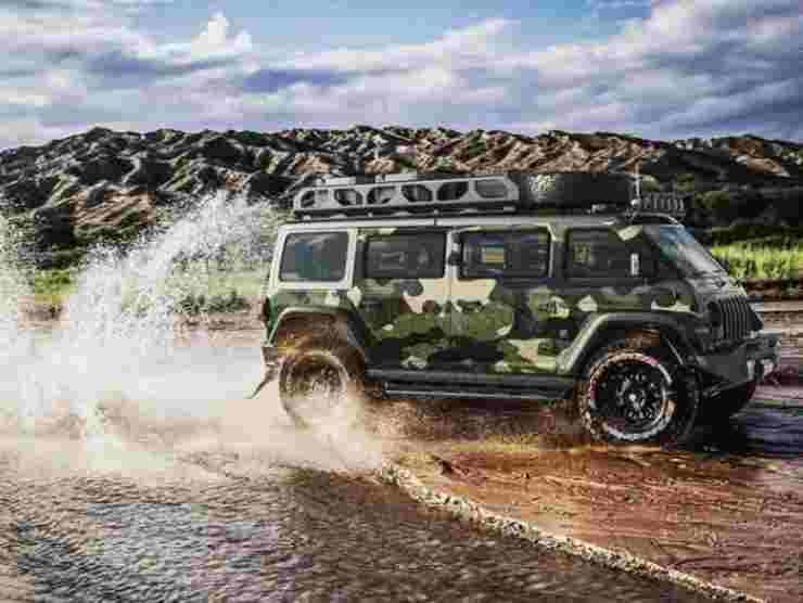 Jeep Vangler (Instagram) 3