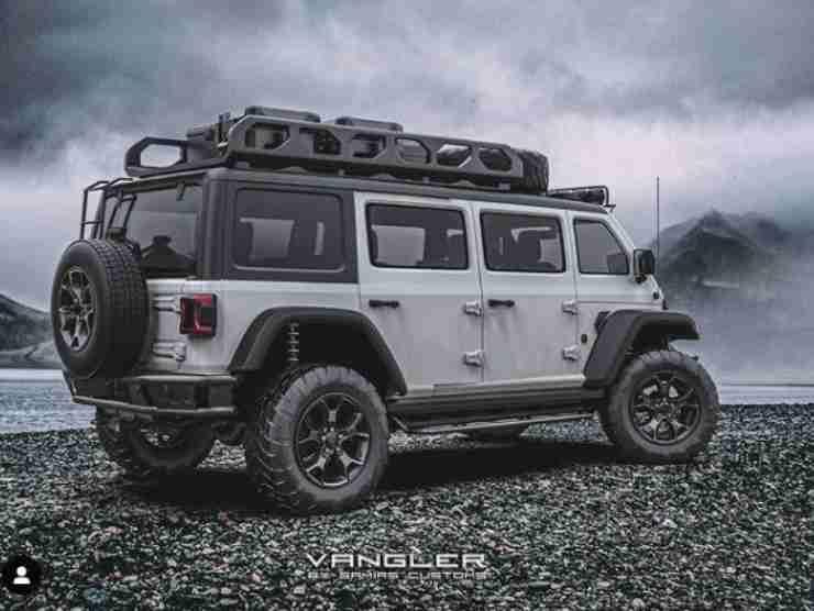 Jeep Vangler (Instagram) 4