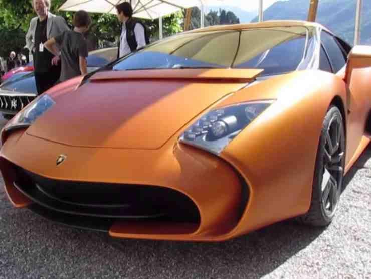 Lamborghini Zagato (YouTube) 2