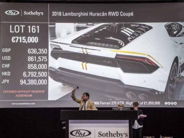 Sapevate che Papa Francesco aveva una Lamborghini? La storia della supercar da quasi 1 milione di euro