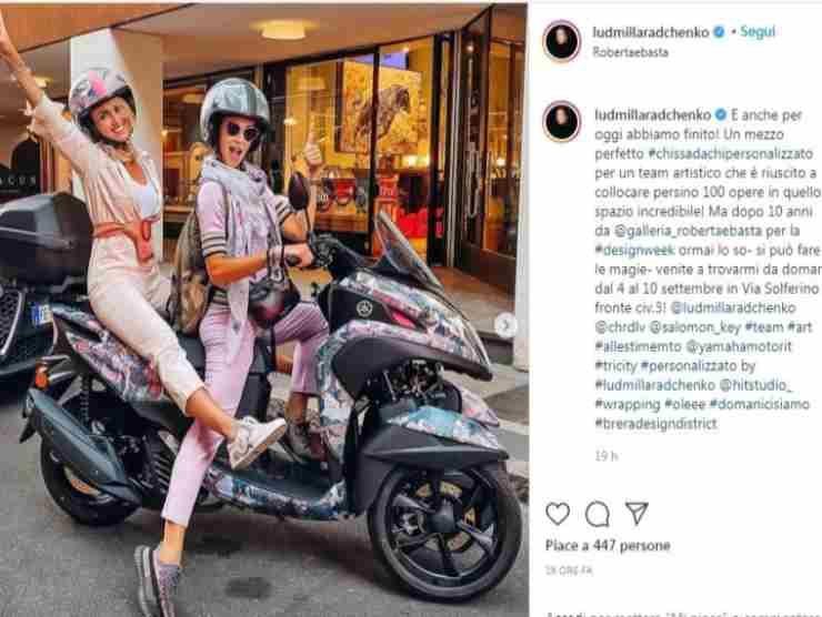 Liudmila Radchenko post Instagram