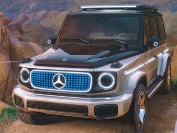 Mercedes Concept EQG (Mercedes-Benz) 2