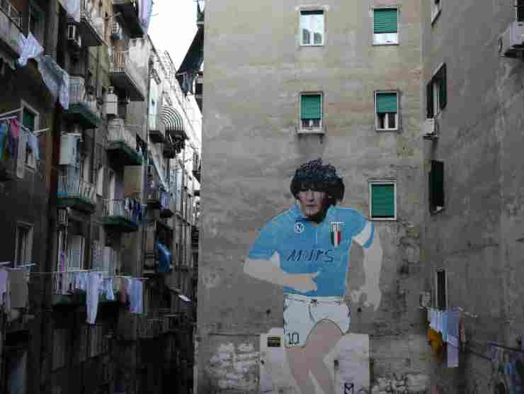 Napoli murale Maradona (Getty Images)