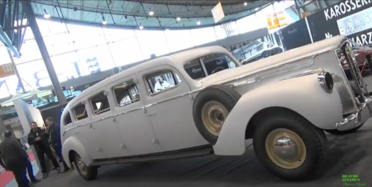 Packard limo 8
