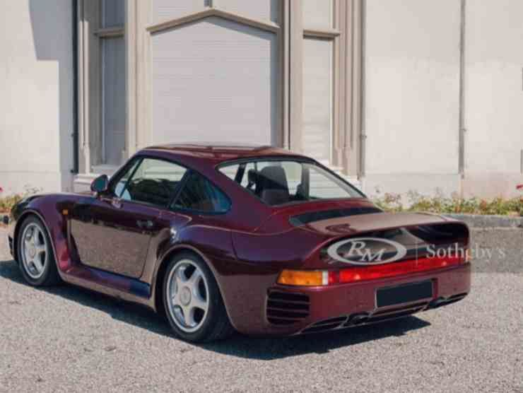 Porsche 959 Komfort (RM Sotheby's) 2