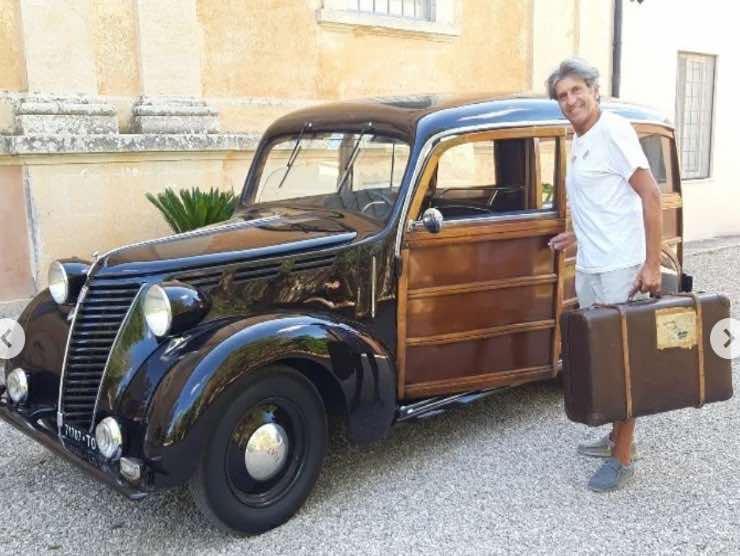 L'auto di Gianni Ippoliti (Instagram)