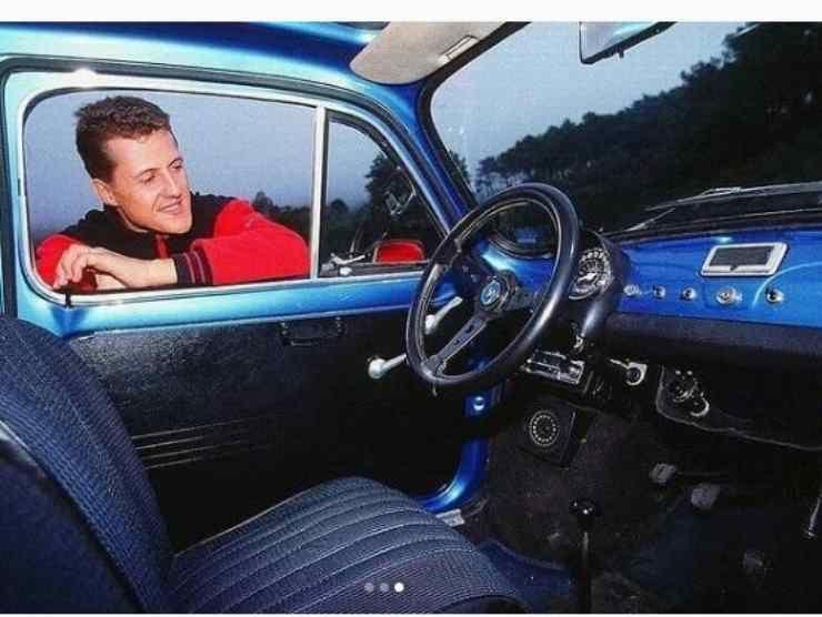Schumacher Fiat 500 (Instagram) 3