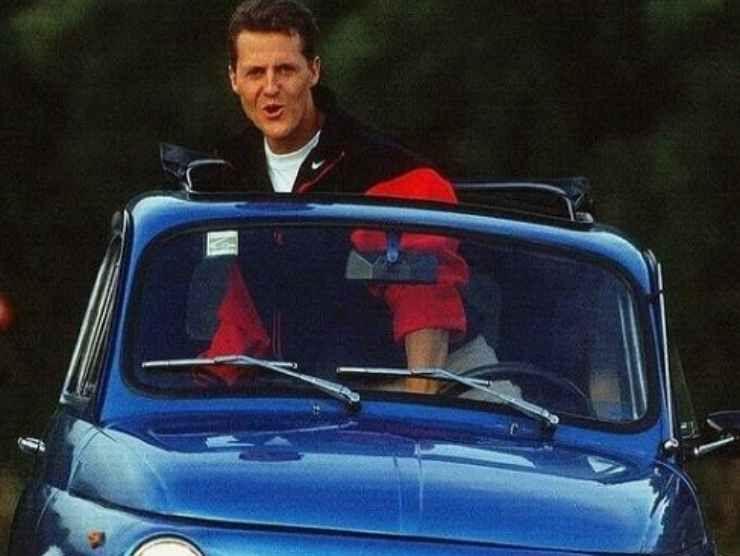 Schumacher Fiat 500 (Instagram)