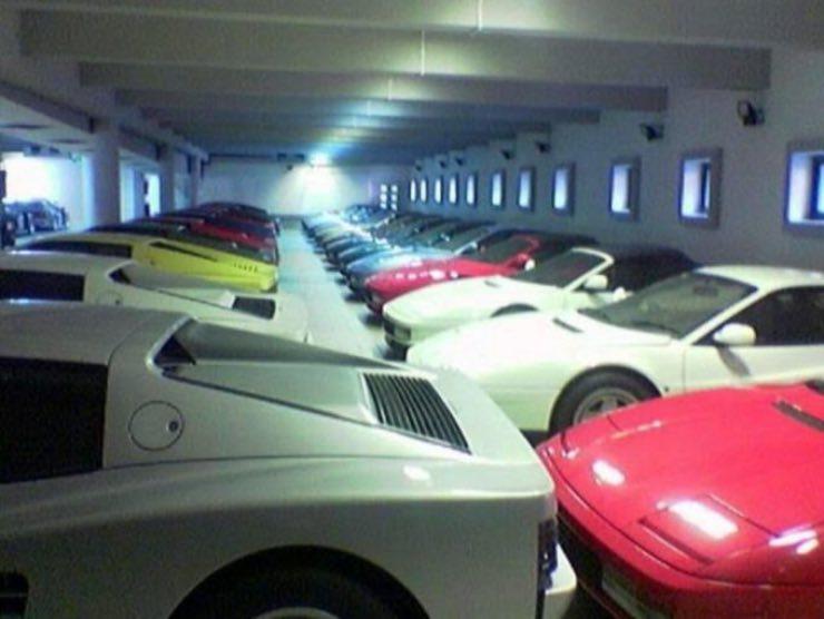 Il garage del Sultano del Brunei
