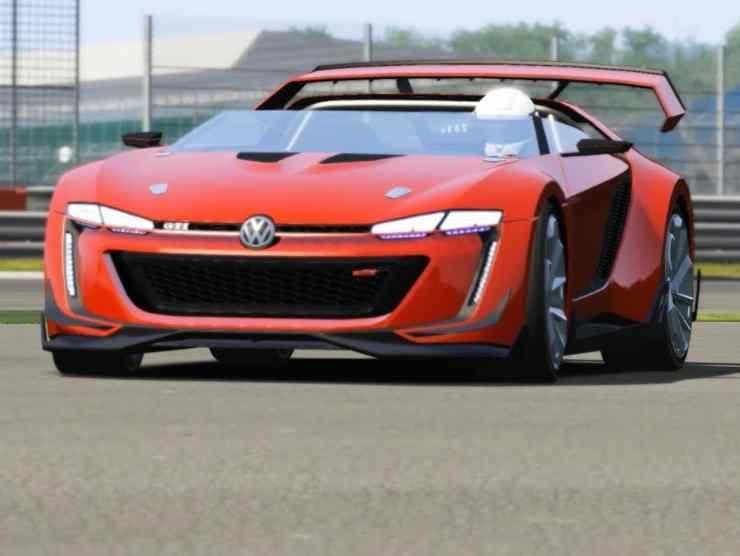 Volkswagen GTI Roadster Vision Gran Turismo (YouTube) 2