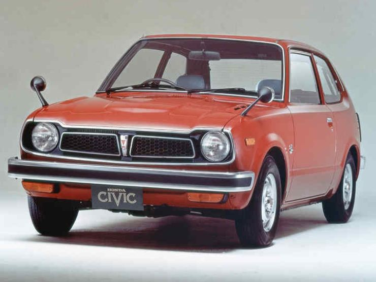 Honda Civic 1° generazione del 1972 (web source)