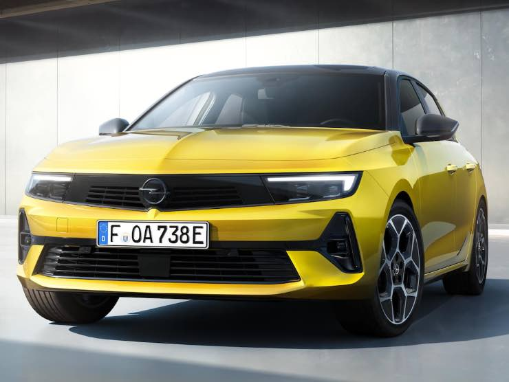 Nuova Opel Astra (Opel)