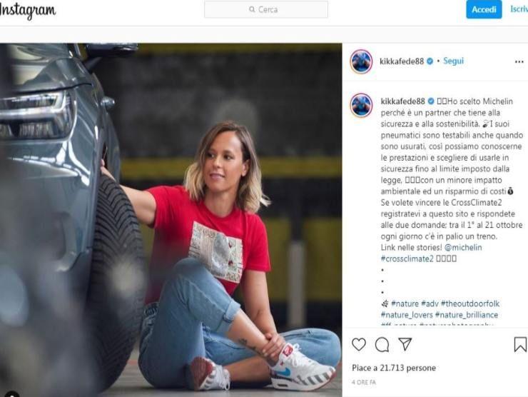 Federica Pellegrini (Instagram)