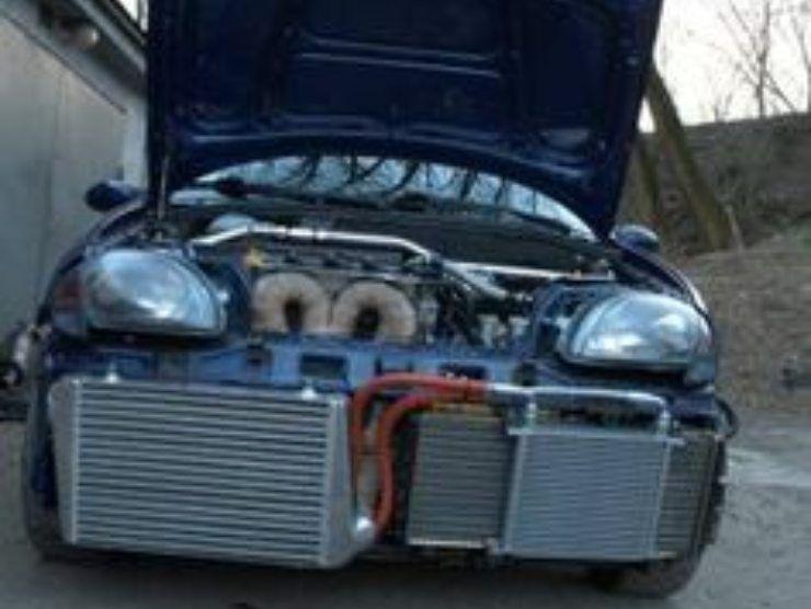 Fiat 600 con motore Abarth (Pinterest)