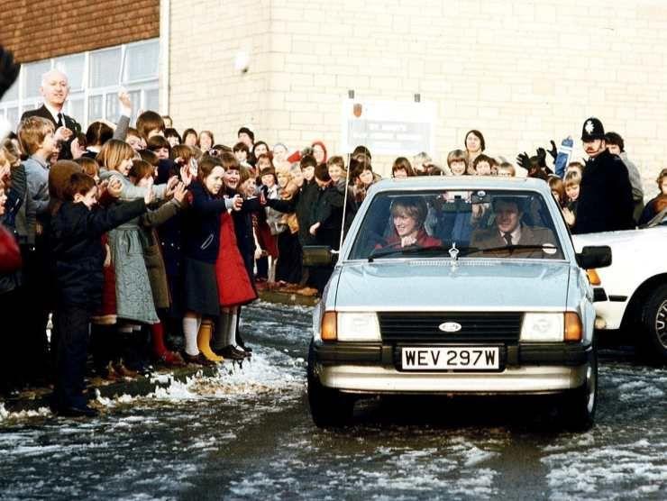 Ford Escort Lady Diana (RaiNews)