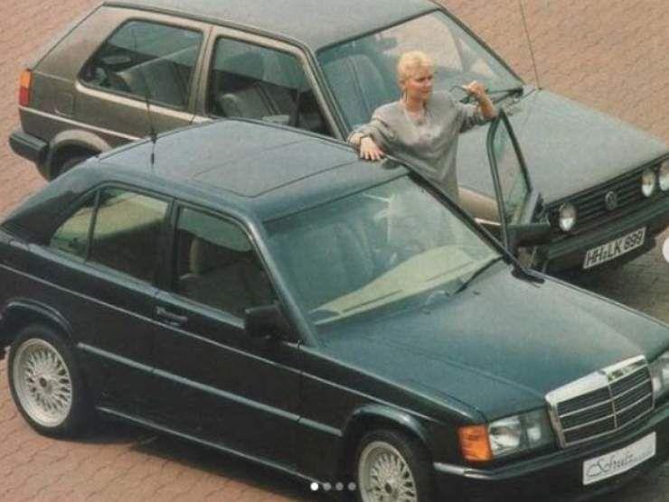 Mercedes 190E (Instagram)
