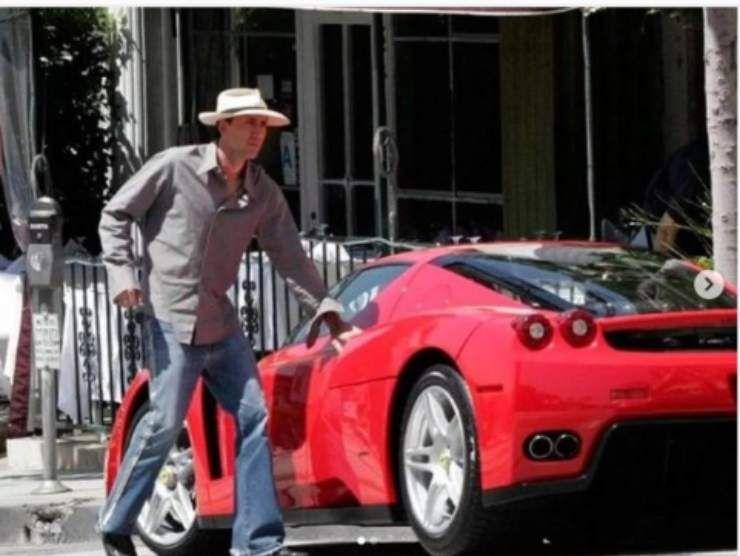 Nicolas Cage Ferrari Enzo (Instagram)