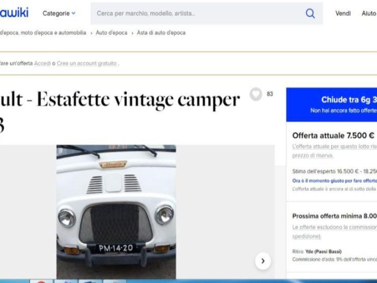 Renault Estafette Camper (Katawiki)